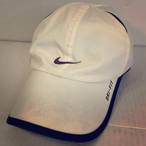 NIKE Dri-Fit featherlight Strapback Hat/Cap white